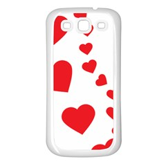 Follow Your Heart Samsung Galaxy S3 Back Case (white)
