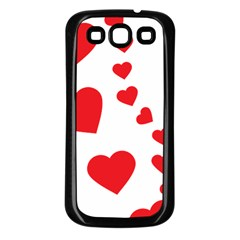 Follow Your Heart Samsung Galaxy S3 Back Case (Black)