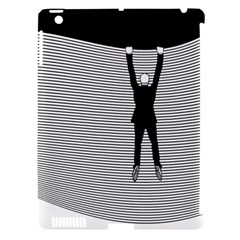Hang On! Hang On!  Apple iPad 3/4 Hardshell Case (Compatible with Smart Cover)