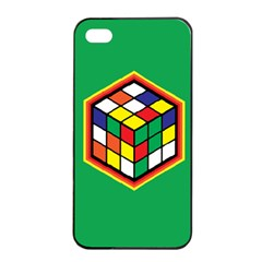 Colorful Cube, Solve It! Apple Iphone 4/4s Seamless Case (black)
