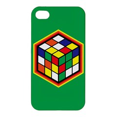 Colorful Cube, Solve It! Apple iPhone 4/4S Hardshell Case