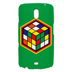 Colorful Cube, Solve It! Samsung Galaxy Nexus i9250 Hardshell Case