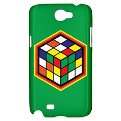 Colorful Cube, Solve It! Samsung Galaxy Note 2 Hardshell Case