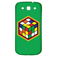 Colorful Cube, Solve It! Samsung Galaxy S3 S III Classic Hardshell Back Case