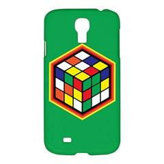 Colorful Cube, Solve It! Samsung Galaxy S4 I9500/I9505 Hardshell Case