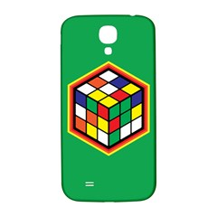 Colorful Cube, Solve It! Samsung Galaxy S4 I9500/i9505  Hardshell Back Case