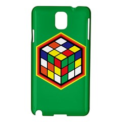 Colorful Cube, Solve It! Samsung Galaxy Note 3 N9005 Hardshell Case