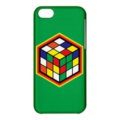 Colorful Cube, Solve It! Apple iPhone 5C Hardshell Case