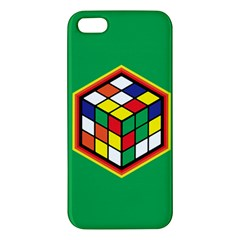 Colorful Cube, Solve It! iPhone 5S Premium Hardshell Case