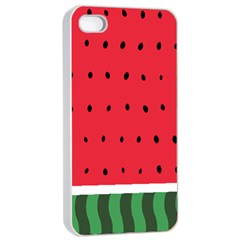 Watermelon! Apple iPhone 4/4s Seamless Case (White)
