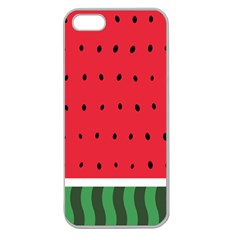 Watermelon! Apple Seamless Iphone 5 Case (clear)