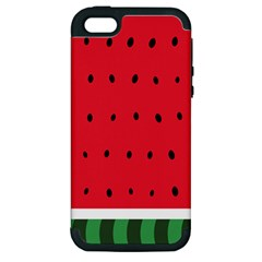 Watermelon! Apple iPhone 5 Hardshell Case (PC+Silicone)