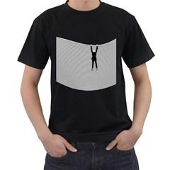 Hang On! Hang On!  Black T-Shirt