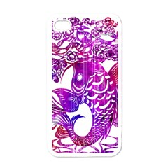 Form of Auspiciousness Apple iPhone 4 Case (White)