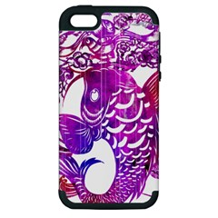Form of Auspiciousness Apple iPhone 5 Hardshell Case (PC+Silicone)