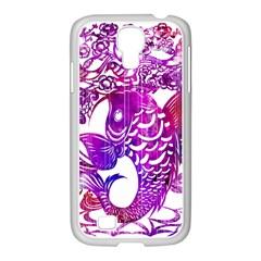 Form Of Auspiciousness   1800x3000 Samsung GALAXY S4 I9500/ I9505 Case (White)