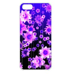 Midnight Forest Apple iPhone 5 Seamless Case (White)