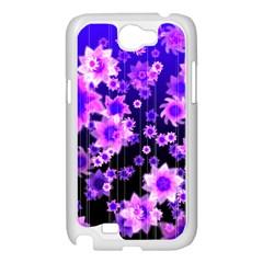 Midnight Forest Samsung Galaxy Note 2 Case (White)
