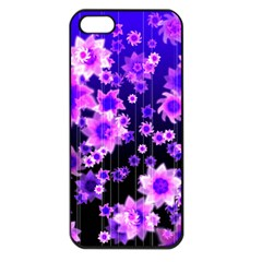 Midnight Forest Apple iPhone 5 Seamless Case (Black)