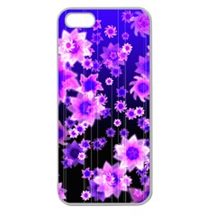Midnight Forest Apple Seamless iPhone 5 Case (Clear)