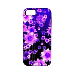 Midnight Forest Apple Iphone 5 Classic Hardshell Case (pc+silicone)