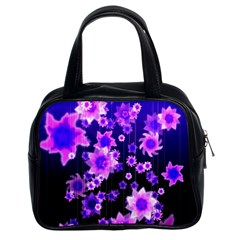 Midnight Forest Classic Handbag (two Sides)