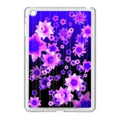 Midnight Forest Apple iPad Mini Case (White)