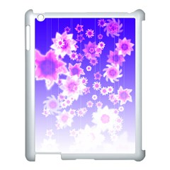 Midnight Forest Apple iPad 3/4 Case (White)