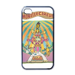 monster circus Apple iPhone 4 Case (Black)
