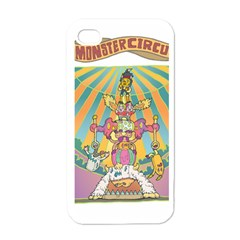 monster circus Apple iPhone 4 Case (White)
