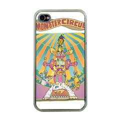 monster circus Apple iPhone 4 Case (Clear)