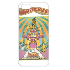 monster circus Apple iPhone 5 Seamless Case (White)