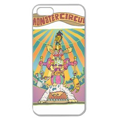 monster circus Apple Seamless iPhone 5 Case (Clear)
