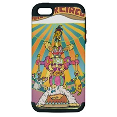 monster circus Apple iPhone 5 Hardshell Case (PC+Silicone)