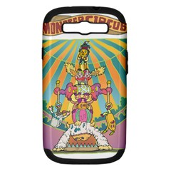 monster circus Samsung Galaxy S III Hardshell Case (PC+Silicone)