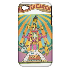monster circus Apple iPhone 4/4S Hardshell Case (PC+Silicone)