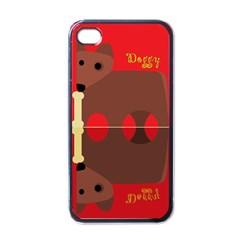 Mirror Mirror Apple iPhone 4 Case (Black)