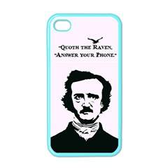 Qouth The Raven   Answer Your Phone  Apple Iphone 4 Case (color)