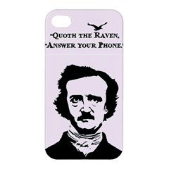 Qouth The Raven   Answer Your Phone  Apple Iphone 4/4s Premium Hardshell Case