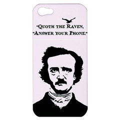 Qouth The Raven   Answer Your Phone  Apple Iphone 5 Hardshell Case