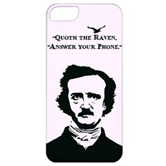 Qouth the Raven...Answer Your Phone. Apple iPhone 5 Classic Hardshell Case