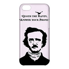 Qouth The Raven   Answer Your Phone  Apple Iphone 5c Hardshell Case