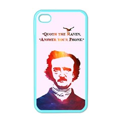 Qouth the Raven...Answer Your Phone (In Color). Apple iPhone 4 Case (Color)