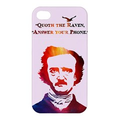 Qouth the Raven...Answer Your Phone (In Color). Apple iPhone 4/4S Hardshell Case