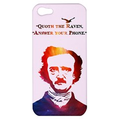 Qouth the Raven...Answer Your Phone (In Color). Apple iPhone 5 Hardshell Case