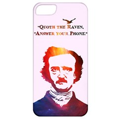 Qouth The Raven   Answer Your Phone (in Color)  Apple Iphone 5 Classic Hardshell Case