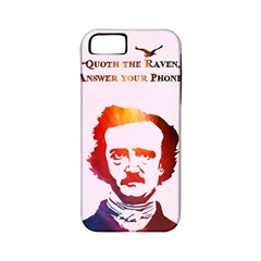 Qouth The Raven   Answer Your Phone (in Color)  Apple Iphone 5 Classic Hardshell Case (pc+silicone)