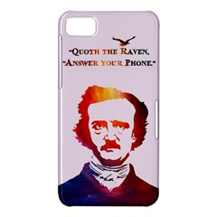 Qouth the Raven...Answer Your Phone (In Color). BlackBerry Z10 Hardshell Case