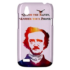 Qouth the Raven...Answer Your Phone (In Color). HTC T328W (Desire V) Case