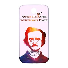 Qouth the Raven...Answer Your Phone (In Color). Samsung Galaxy S4 I9500/I9505  Hardshell Back Case